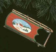 1991 Old Fashioned Sled