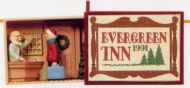 1991 Matchbox Memories Collection: Evergreen Inn