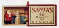 1991 Matchbox Memories Collection: Santa's Studio