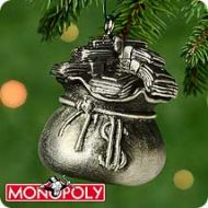 2000 Monopoly #1: Sack of Money Miniature Ornament