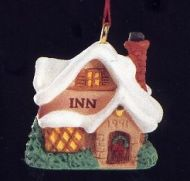 1991 Old English Village #4: Inn Miniature Ornament