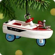 2000 Miniature Kiddie Car Classics #6: 1968 Murray Jolly Roger Flagship
