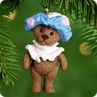 2000 Teddy-Bear Style #4 Miniature Ornament