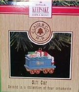 1991 Claus & Co. R.R. Ornaments Collection: Gift Car